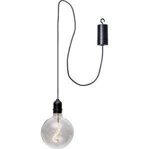 Transparentní venkovní světelná LED dekorace Best Season Glassball, délka 1 m