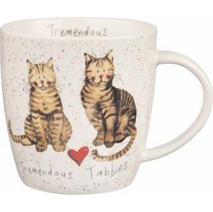 Porcelánový hrnek Churchill China Tremendous Tabbies, 400 ml