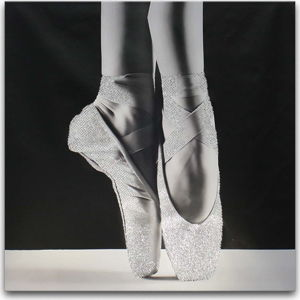 Obraz Styler Canvas Glam Ballet Dancer, 60 x 60 cm