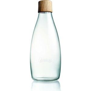 Skleněná lahev s dřevěným víčkem ReTap s doživotní zárukou, 500ml