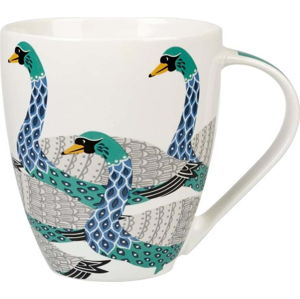 Hrnek z porcelánu Churchill China Geometric Swans, 500 ml