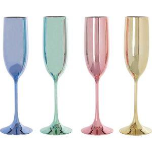 Sada 4 sklenic na šampaňské Premier Housewares Mimo,180ml