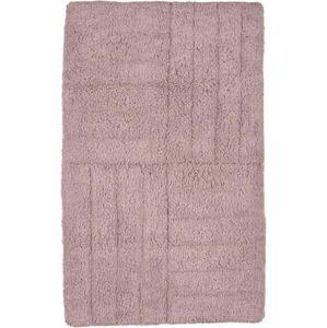 Béžová bavlněná koupelnová předložka Zone Classic Nude, 50 x 80 cm