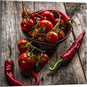 Obraz Styler Glasspik Peppers, 20 x 20 cm