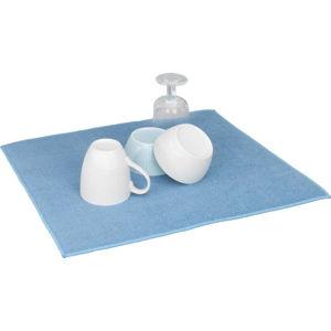 Modrá absorpční podložka na umyté nádobní Wenko Miko