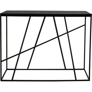 Černý konzolový stolek Canett Coster