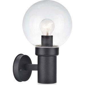 Černé nástěnné svítidlo Markslöjd Caris