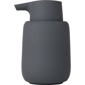 Šedočerný dávkovač mýdla Blomus Sono, 250ml