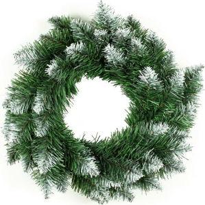 Vánoční věnec DecoKing Pola Green White