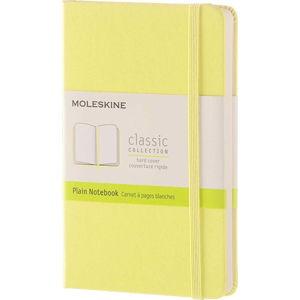 Žlutý zápisník v pevné vazbě Moleskine Daisy, 192stran