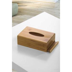 Bambusový box na kapesníky Bambum Metta, 19 x 12,3 cm