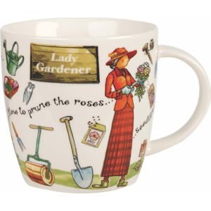 Hrnek z porcelánu Churchill China At Your Leisure Lady Gardener, 400 ml
