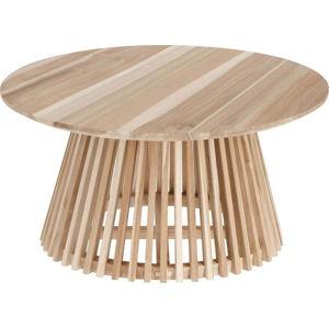 Konferenční stolek z teakového dřeva La Forma Irune, ⌀ 80 cm
