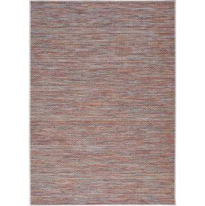 Tmavě červený venkovní koberec Universal Bliss, 130 x 190 cm