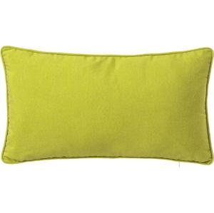 Zelený polštář Unimasa Love, 30 x 50 cm