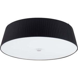 Černé stropní svítidlo Sotto Luce KAMI,⌀45cm
