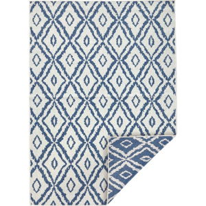 Modro-bílý venkovní koberec Bougari Rio, 200x 290 cm
