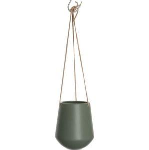 Zelený závěsný květináč PT LIVING Skittle, ⌀13,5cm