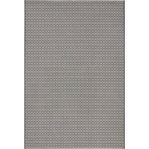 Černo-bílý venkovní koberec Bougari Coin, 200x290cm