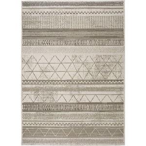 Šedobéžový venkovní koberec Universal Libra Grey Puzzo, 140 x 200 cm