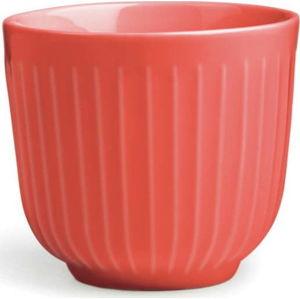 Korálově červený porcelánový hrnek Kähler Design Hammershoi, 200 ml