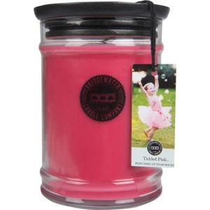 Svíčka ve skleněné dóze Bridgewater Candle Company Tickled Pink, doba hoření 140-160 hodin