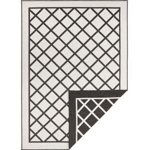 Černo-krémový venkovní koberec Bougari Sydney, 290 x 200 cm