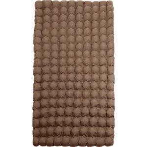 Hnědá relaxační masážní matrace Linda Vrňáková Bubbles, 110x200cm