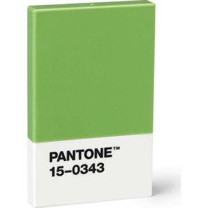 Zelené pouzdro na vizitky Pantone