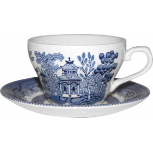 Kameninový hrnek Churchill China Blu Willow, 200 ml