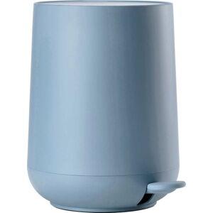 Modrý koupelnový pedálový koš Zone Nova,3l