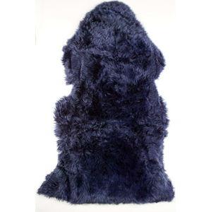 Tmavě modrá ovčí kožešina Royal Dream Sheep,60x120cm
