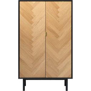 Komoda v dubovém dekoru Unique Furniture Calvi