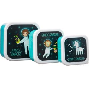 Sada 3 dětských obědových boxů Sass & Belle Space Explorer
