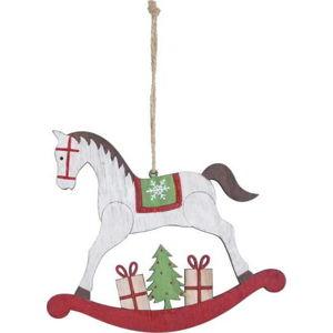 Závěsná vánoční dekorace na stromek Ego Dekor Misto Horse