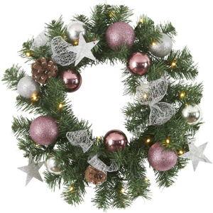 LED svítící věnec Best Season Noel, ⌀ 40 cm