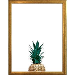 Plakát v rámu ve zlaté barvě Piacenza Art Pina, 33,5 x 23,5 cm