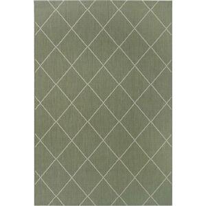 Zelený venkovní koberec Ragami London, 120 x 170 cm