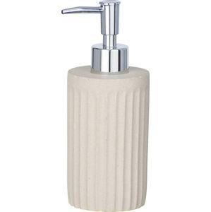 Světle hnědý cementový dávkovač mýdla Wenko Ion, 150 ml