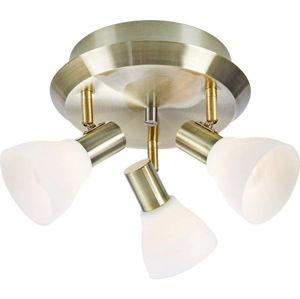 Stropní svítidlo v bílo-zlaté barvě Markslöjd Vero, ø 33 cm