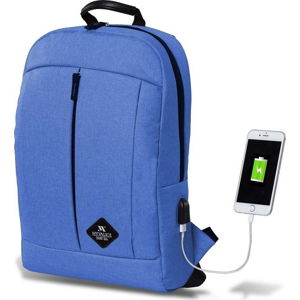 Modrý batoh s USB portem My Valice GALAXY Smart Bag