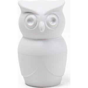 Bílý mlýnek na sůl Qualy&CO Owl