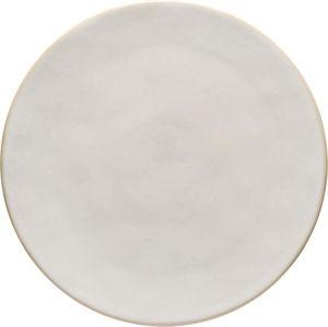 Bílý kameninový podnos Costa Nova Roda, ⌀ 28 cm
