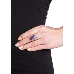 Dámský prsten ve stříbrné barvě NOMA Rowena