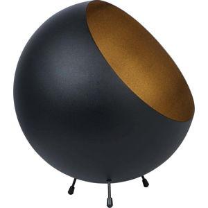 Stolní lampa v matně černé barvě Leitmotiv Bell