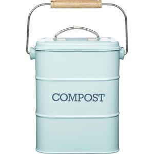 Modrý domácí kompostér Kitchen Craft Living Nostalgia, 3 l