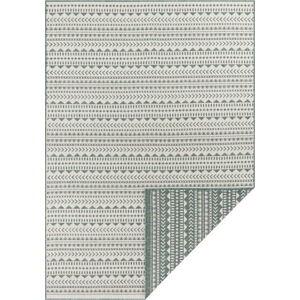 Zeleno-bílý venkovní koberec Ragami Kahira, 80 x 150 cm