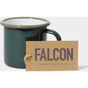 Tmavě zelený smaltovaný šálek na espresso Falcon Enamelware, 160 ml